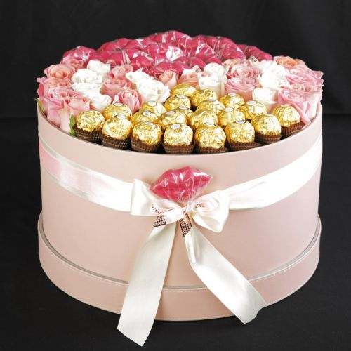 Luxurious Box Of Flowers