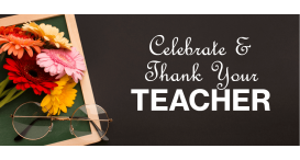 Thank You Teacher Flowers from Black Tulip Flowers